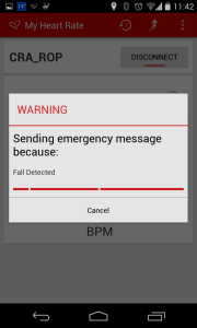 Warning Screen